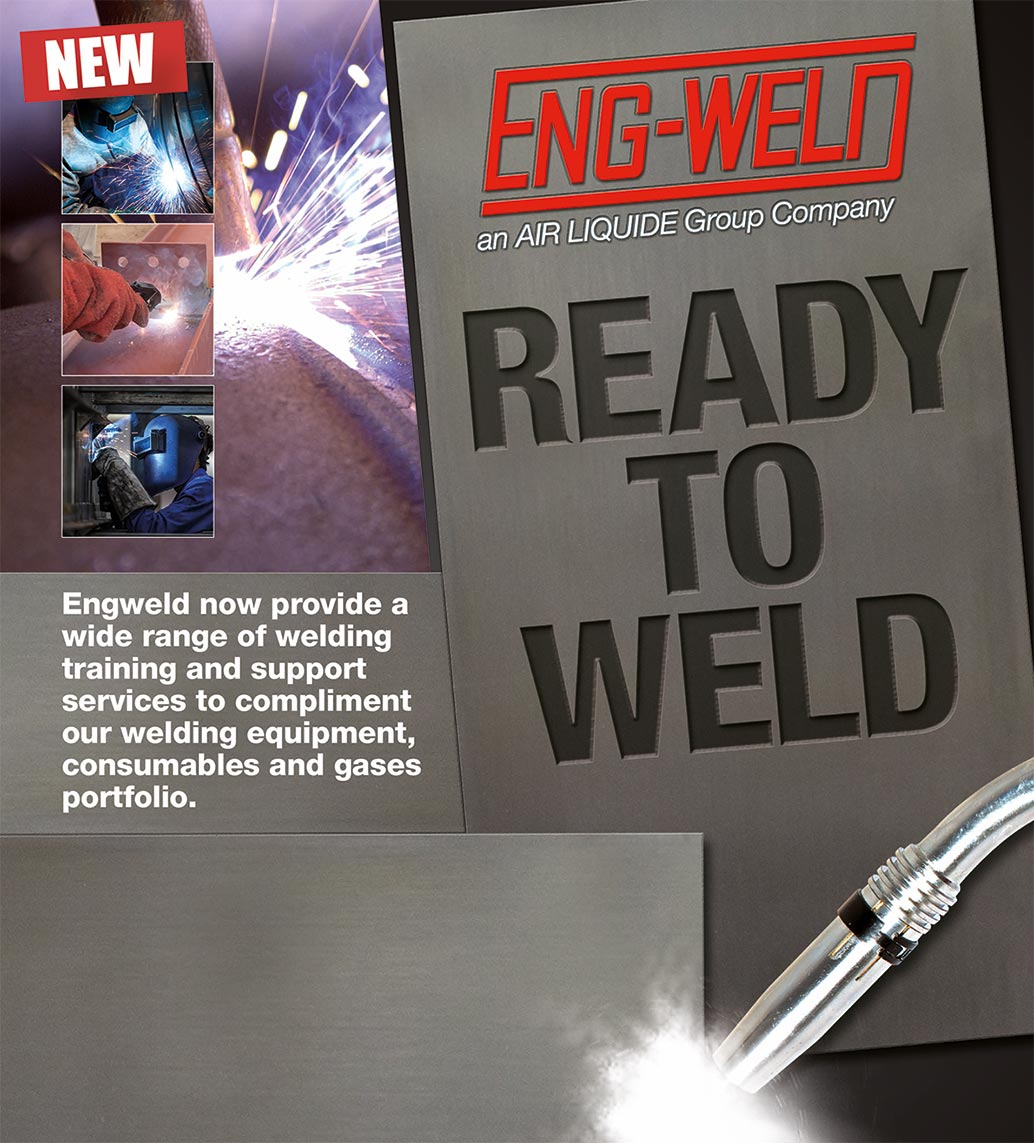 Engweld ready to weld poster